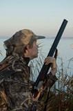 Incoming Duck, Hunter getting ready poster