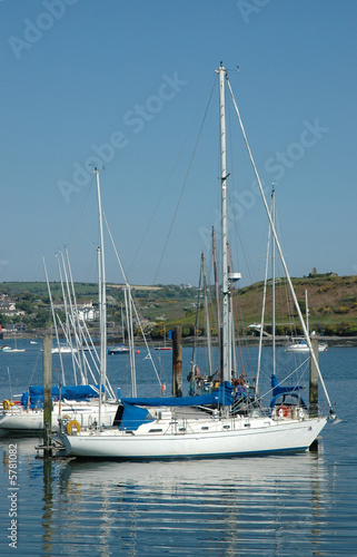 Sailing Boat in Harbour