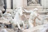Trevi Fountain Triton (Rome, Italy)