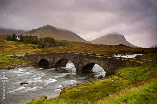 Bridge on Sligachan  Isle of Skye, Scotland