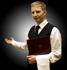 Waiter with Menu2
