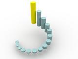 3d business statistics poster