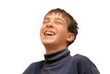 laughing boy poster