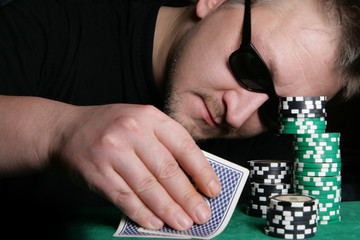 Poker gambler