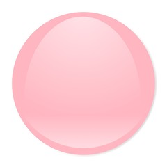 light pink aqua button