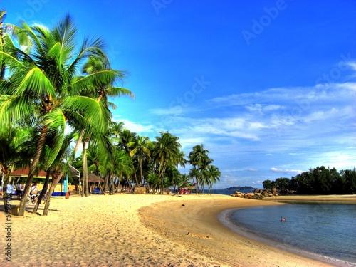 Aluminium Singapore Singapur - Siloso Beach (Sentosa Island)