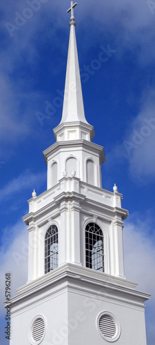 Elaborate Church Steeple