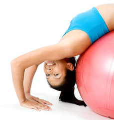 Fitball Stretch