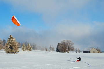 Snowkiting - Snow Kate