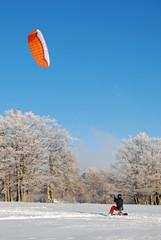 Snowkiting - Snow Kate