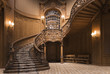 Stairs in the Lviv ancient casino - 5797685