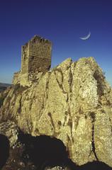 rovine del castello medievale di pietrarubbia