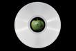 Leinwandbild Motiv White vinyl record