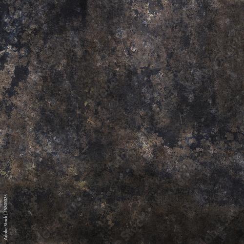 Staande foto Leder metall textur