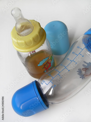The nursery bottles