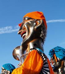 le saxophoniste du carnaval