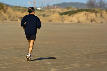 Mature runner