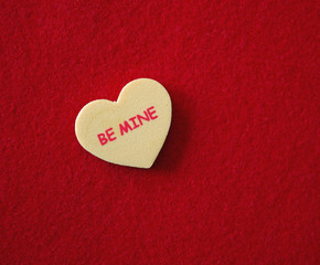 Conversation Heart - Be Mine