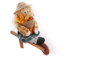 autumn figurine
