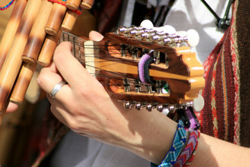 Charango and Pan Pipes