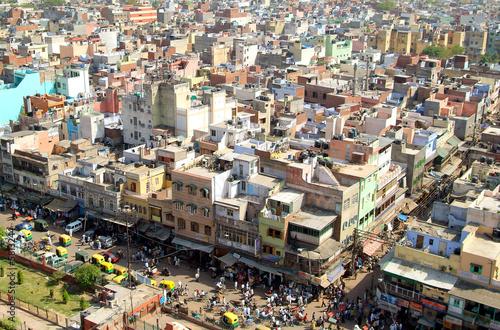 Spoed canvasdoek 2cm dik Delhi delhi