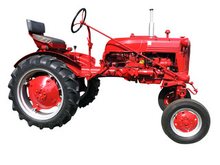 1949 Farmall Cub (15 HP) with clipping path