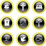 Christian icons poster