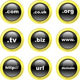 domain icons poster