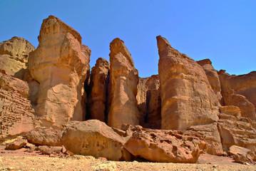 Solomons pillars