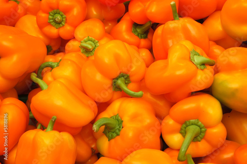 background from nice peppers