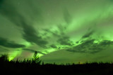 Bright Aurora over Alcan