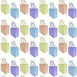 Reusable jute bag background (seamless repeat tile) poster