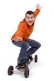 Sport extreme mountainboard poster
