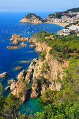 Tossa de Mar (Costa Brava, Catalonia, Spain)