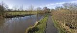The stratford upon avon canal, lapworth  warwickshire  poster