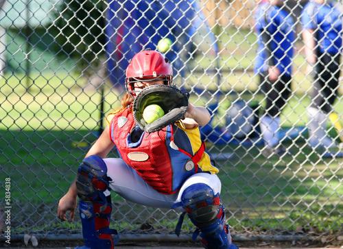Fastpitch Softball Catcher Fastpitch Softball Catcher