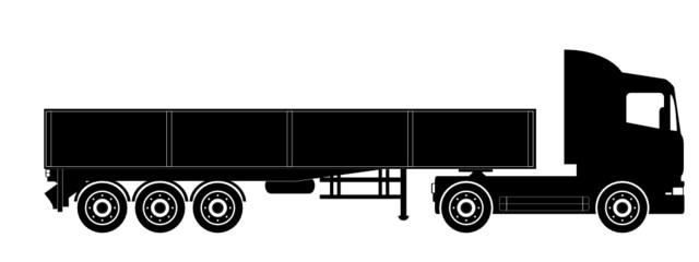 LKW mit Holzheck XL