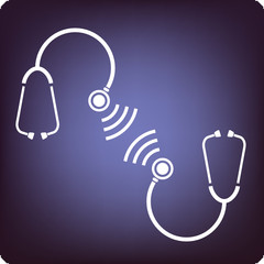 Stethoscope talking