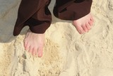 toes in the sand poster