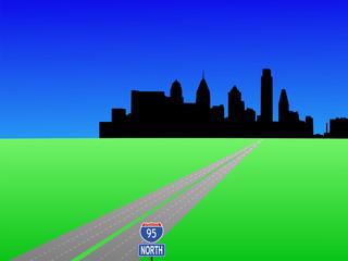 highway to Philadelphia