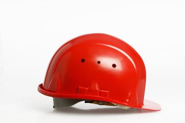 casque rouge