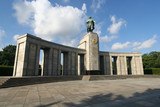 Berlin: Soviet liberation monument in Tiergarten poster