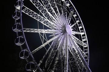 Large Ferris Wheel at night
