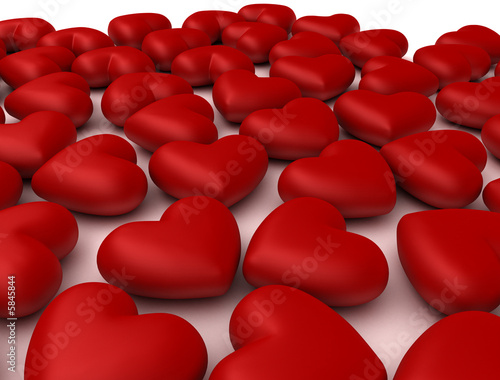 Mille cuori rossi