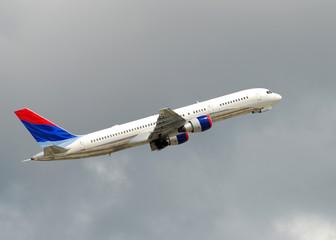 Modern passenger jet Boeing 767