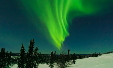 X Flare Aurora on Cleary Summit