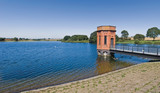 The reservoir at sywell northamptonshire midlands  poster