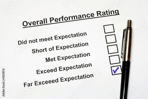 Overall Performance Rating Form 2
