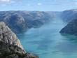 deep lysefjord@norway