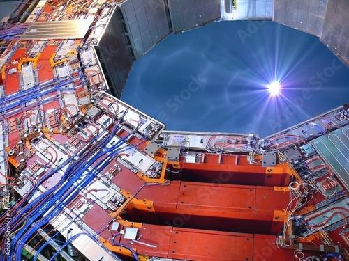 Leinwandbild Motiv CERN LHC